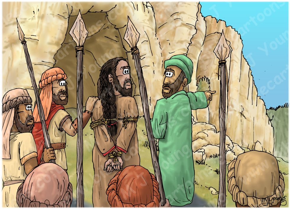Judges 15 - Samson's revenge - Scene 06 - Rope bound 980x706px col.jpg