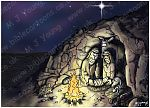Luke 02 - Nativity SET01 - Scene 02 - Stable (Cave version)