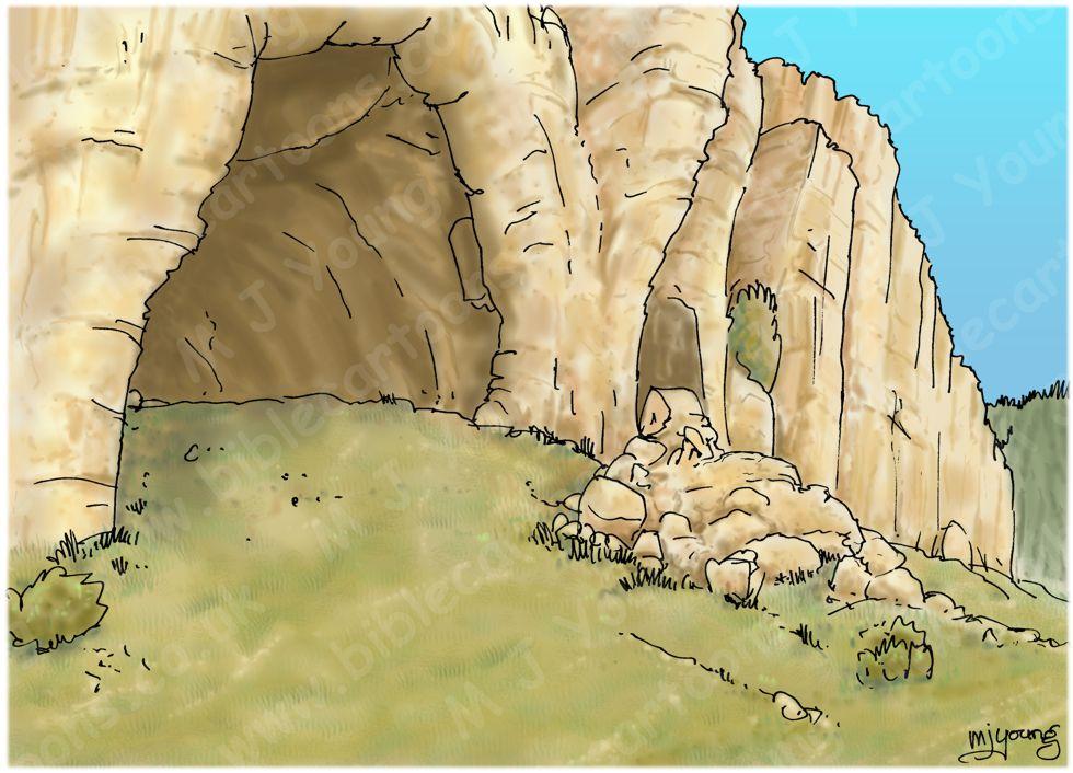 Judges 15 - Samson's revenge - Scene 06 - Rope bound - Landscape 980x706px col.jpg
