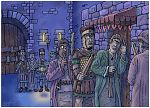 Judges 16 - Samson and Delilah - Scene 01 - Surrounded (Night blue version) 980x706px col.jpg