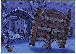 Judges 16 - Samson and Delilah - Scene 02 - City gate torn loose 980x706px col.jpg