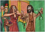 Judges 16 - Samson and Delilah - Scene 05 - New ropes 980x706px col.jpg