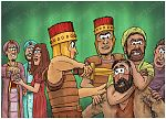 Judges 16 - Samson and Delilah - Scene 09 - Samson subdued 980x706px col.jpg