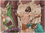 Judges 16 - Death of Samson - Scene 02 - Let me die with the Philistines 980x706px col.jpg