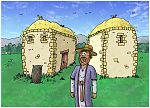 Luke 12 - The Parable of the Rich Fool - Scene 03 - Barns overflowing 980x706px col.jpg