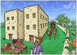 Luke 12 - The Parable of the Rich Fool - Scene 04 - Eat, drink and be merry 980x706px col.jpg