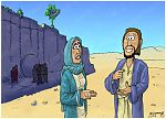 John 11 - Death of Lazarus - Scene 06 - Jesus, I am the resurrection (Version 01) 980x706px col.jpg