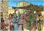 Ruth 01 - In Moab - Scene 06 - Return to Bethlehem 980x706px col.jpg