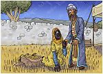 Ruth 02 - Harvesting - Scene 03 - Ruth and Boaz talk 980x706px col.jpg