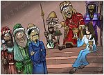 Matthew 02 - The Nativity - Scene 07 - Herod & the wise men