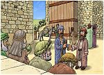 Ruth 04 - Ruth marries Boaz - Scene 01 - Family Redeemer 980x706px col.jpg