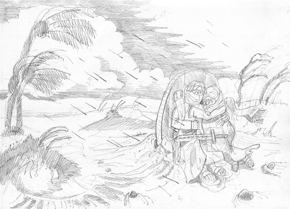 Psalm 18 - Scene 06 - The Lord is a shield - Greyscale 980x706px.jpg