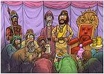 Psalm 18 - Scene 08 - Trembling emissaries 980x706px col.jpg