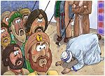 Numbers 16 - Korah's rebellion - Scene 02 - Now listen, you Levites! 980x706px col.jpg