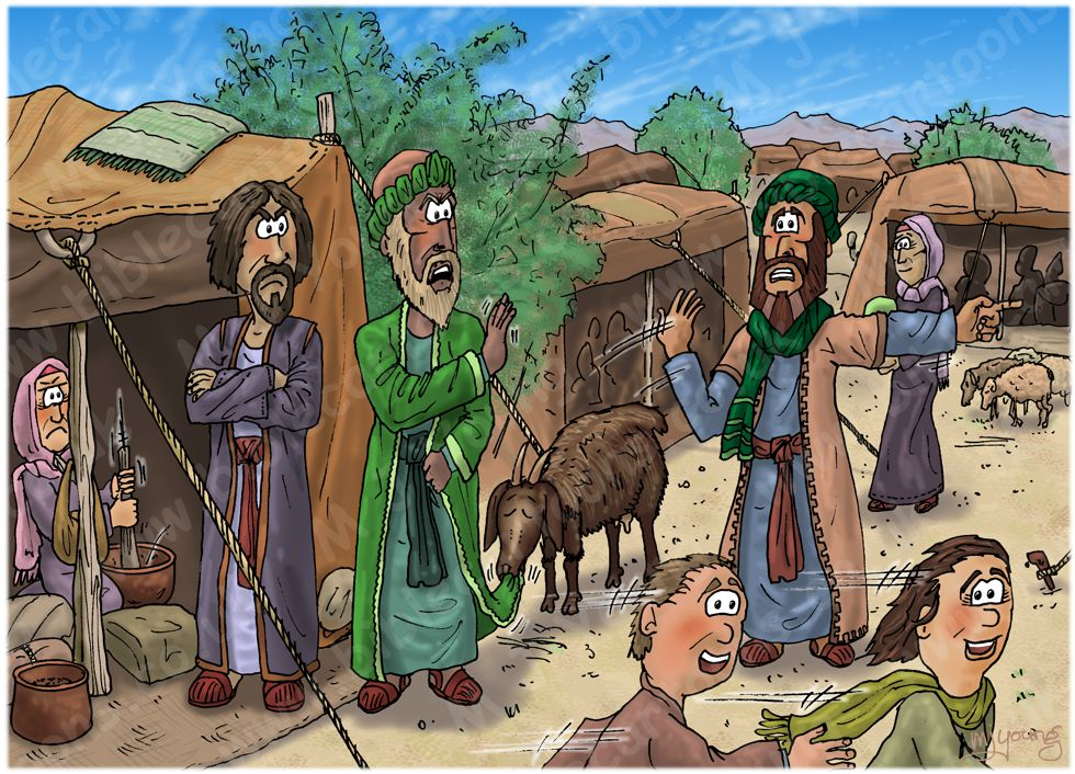 Numbers 16 - Korah's rebellion - Scene 03 - Dathan and Abiram summoned 980x7060x col.jpg