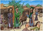 Numbers 16 - Korah's rebellion - Scene 03 - Dathan and Abiram summoned 980x7060x col.jpg