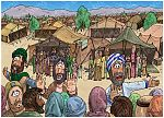 Numbers 16 - Korah's rebellion - Scene 06 - Move back from the tents 980x706px col.jpg