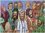 Numbers 16 - Korah's rebellion - Scene 10 - Israelite community grumbling 980x706px col.jpg