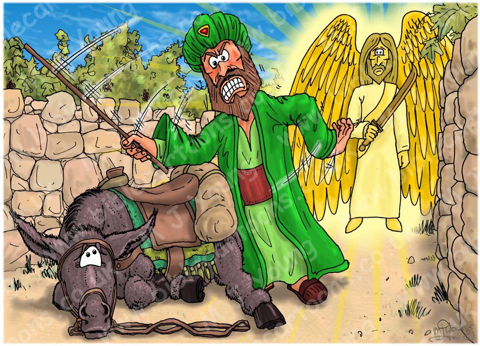 Numbers 22 - Balaam's Donkey - Scene 04 - Lying down 980x706px col.jpg
