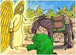 Numbers 22 - Balaam's Donkey - Scene 06 - Angel conversation 980x706px col.jpg