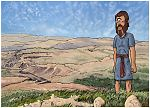 Deuteronomy 34 - Death of Moses - Scene 02 - Valley grave 980x706px col.jpg