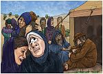 Deuteronomy 34 - Death of Moses - Scene 03 - Grieving for Moses 980x706px col.jpg