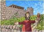 1 Kings 21 - Naboth's Vineyard - Scene 01 - King Ahab's offer 980x706px col.jpg
