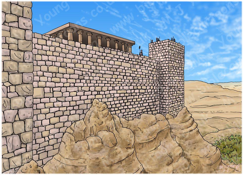 1 Kings 21 - Naboth's Vineyard - Scene 01 - King Ahab's offer (Samaria) - Landscape 980x706px col.jpg