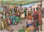 1 Kings 21 - Naboth's Vineyard - Scene 04 - Jezebel's trap sprung 980x706px col.jpg