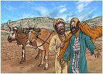 1 Kings 19 - The call of Elisha - Scene 01 - Elisha ploughing 980x706px col.jpg