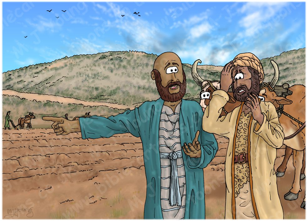 1 Kings 19 - The call of Elisha - Scene 02 - What have I done to you 980x706px col.jpg