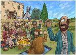1 Kings 19 - The call of Elisha - Scene 03 - Ploughman's lunch 980x706px col.jpg