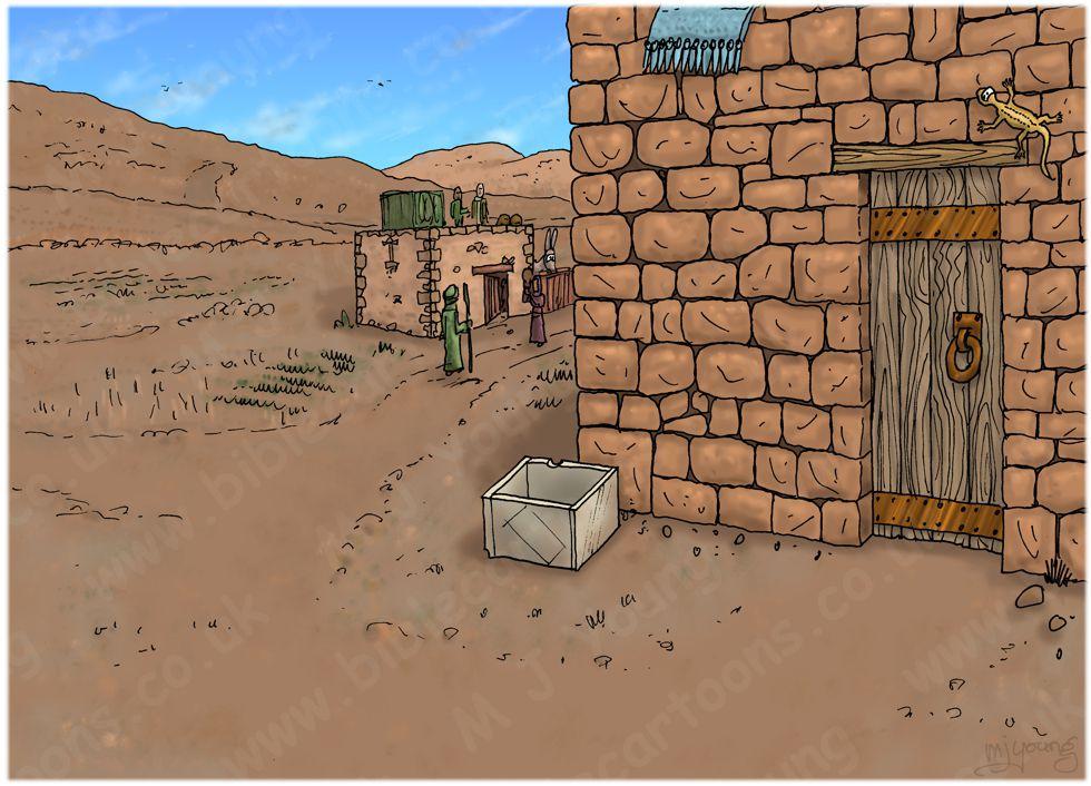 2 Kings 04 - The Widow's Oil - Scene 01 - Consultation - Landscape 980x706px col.jpg