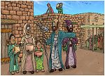 2 Kings 04 - The Widow's Oil - Scene 03 - Pay your debts 980x706px col.jpg