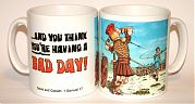 Bad Day - David and Golaith mug
