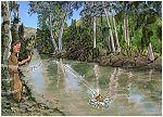 2 Kings 06 - Axe-head floats - Scene 03 - Fallen into river 980x706px col.jpg