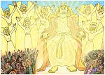 Matthew 25 - The sheep and the goats - Scene 01 - Separation 980x706px col.jpg