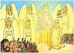 Matthew 25 - The sheep and the goats - Scene 02 - Judgement 980x706px col.jpg