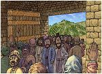 Acts 01 - Matthias replaces Judas - Scene 01 - Apostles return to Jerusalem (Version 01) 980x706px col.jpg
