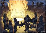 Daniel 03 - Fiery furnace - Scene 02 - Into the furnace