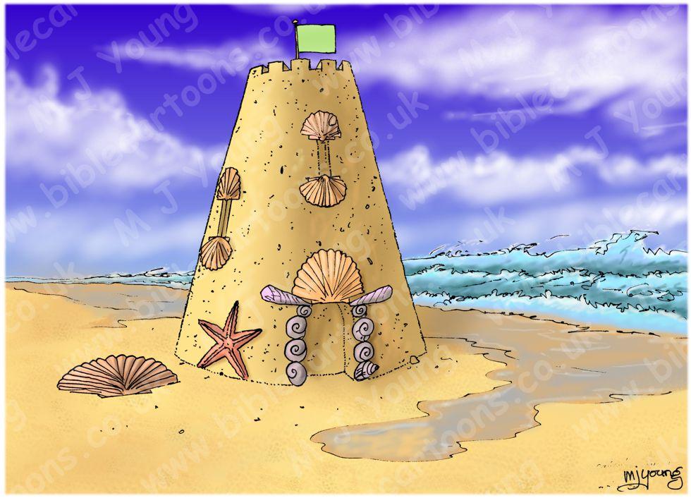 Cosmos as sandcastle