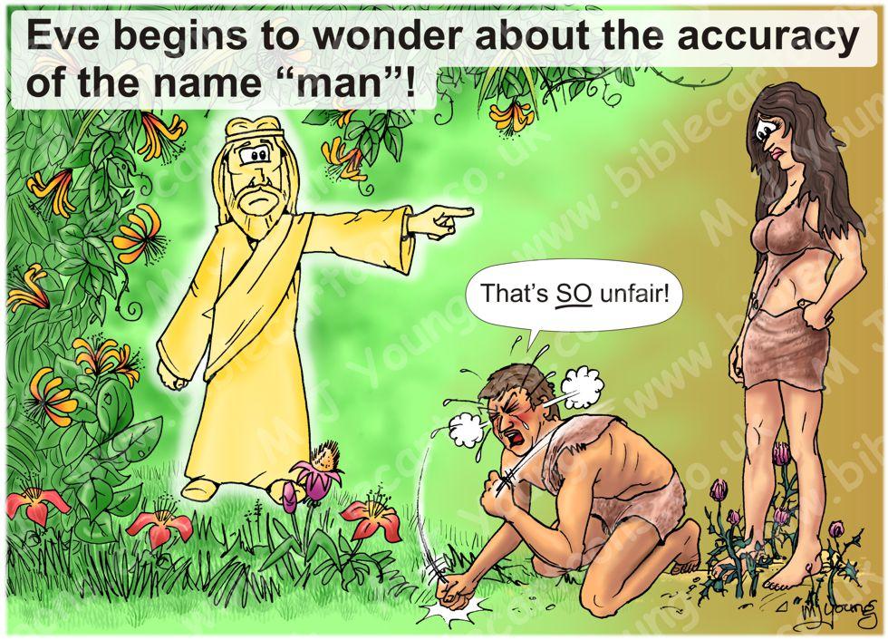 Expulsion from Eden - Adam's tantrum