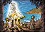 Revelation 01 - Vision of the Son of Man - Scene 01 - John on Patmos 980x706px col.jpg