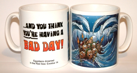 Bad Day - Egyptian army in Red Sea mug