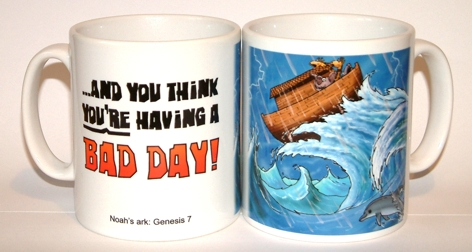 Bad Day - Noahs ark mug
