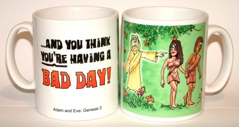 Bad Day - Adam & Eve mug