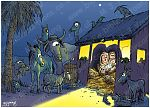 Luke 02 - The Nativity - Scene 02 - Stable (Animals version)