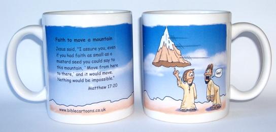 Faith to move a mountain - mug