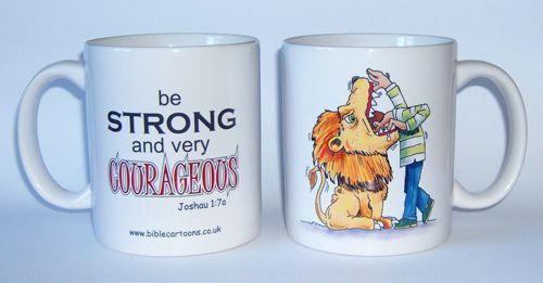 Courageous Lion - Joshua - mug
