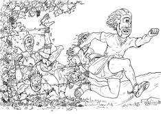 Hebrews 12 - Throw off sin entanglements in the race